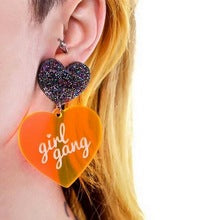 Girl Gang Resin Dangle