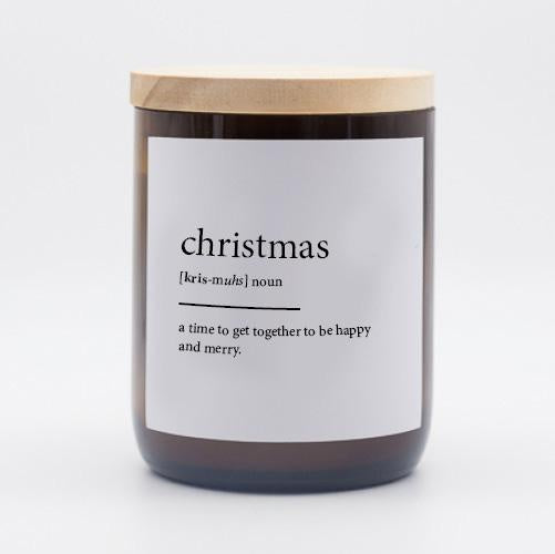 Commonfolk Candle - Christmas