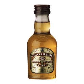 Mini Chivas Regal Scotch Whisky