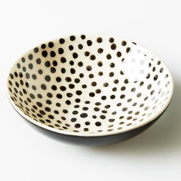 Jones & Co- Polka Dot Bowl