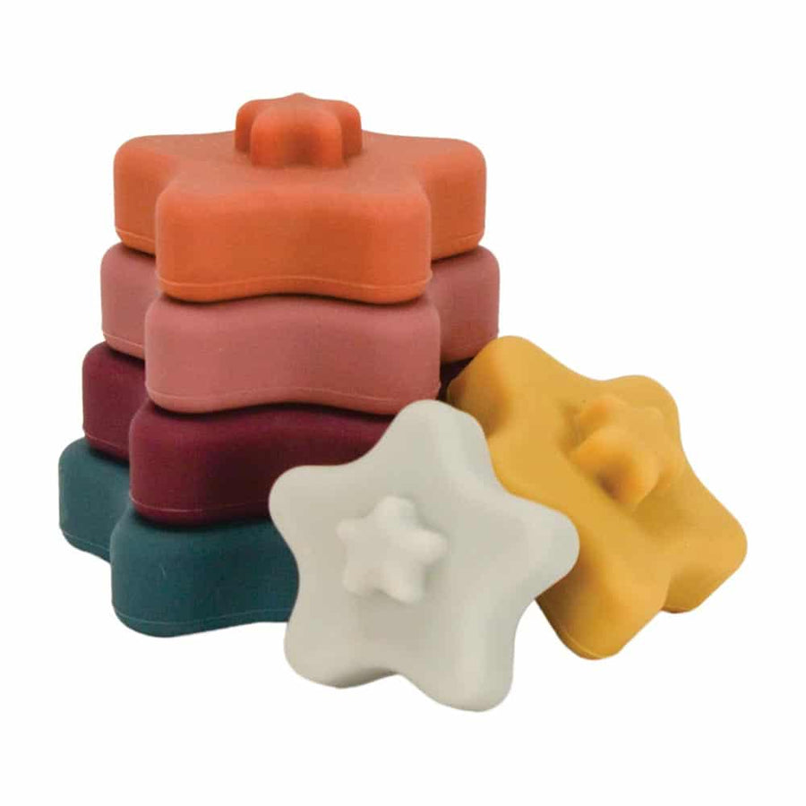 Silicone Stackable Toy- Star