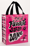 Handy Tote- My Favourite Salad Is Wine