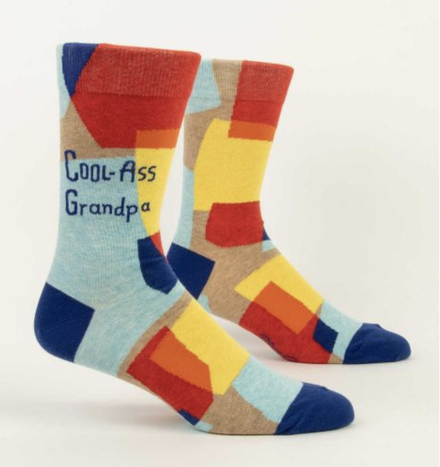 Men's Socks - Cool-Ass Grandpa