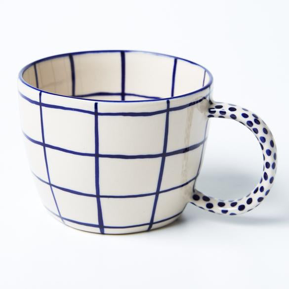 Jones & Co Mug - Windowpane