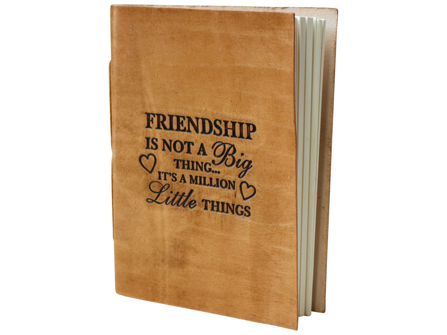 Leather Journal - Friendship