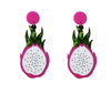 Dragonfruit Earrings