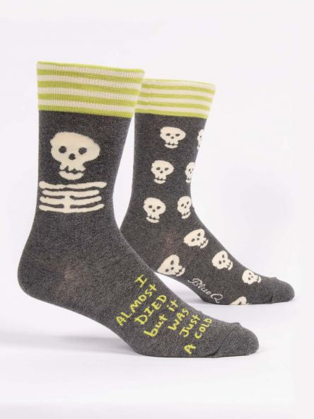Men's Socks - I Nearly Died