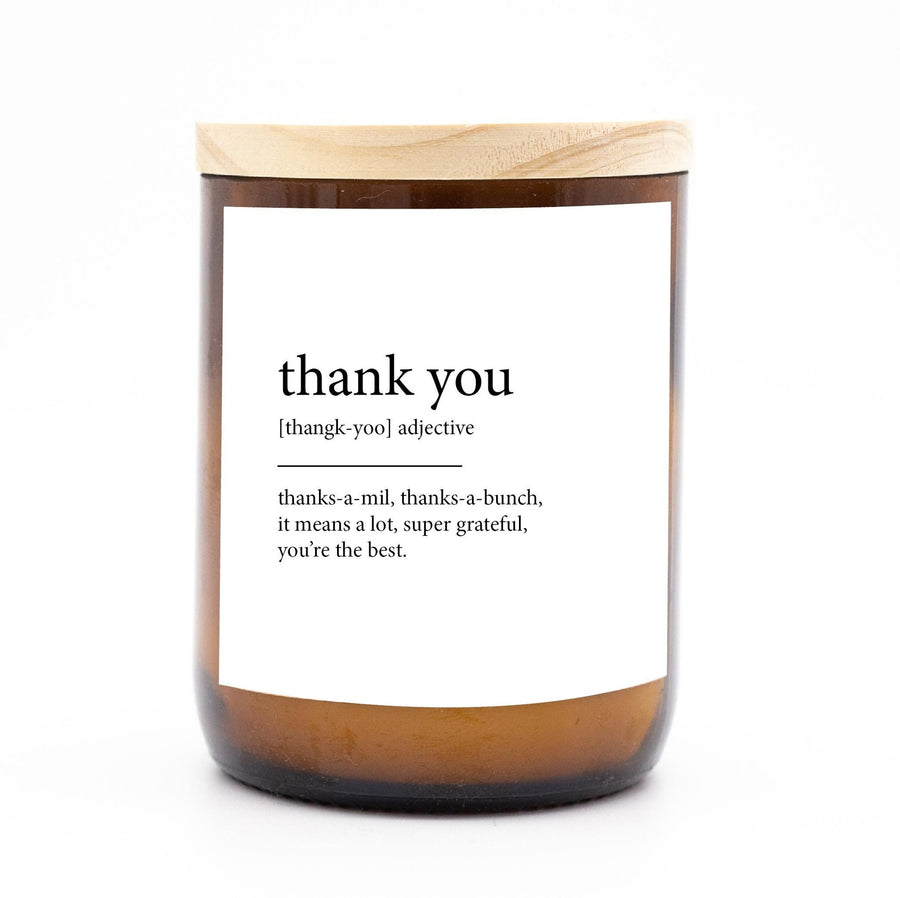 Commonfolk Candle - Thank You Meaning
