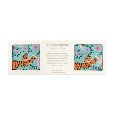 Eye Rest Pillow - Tiger Peonies