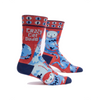 Men's Socks - Crazy Cat Dude