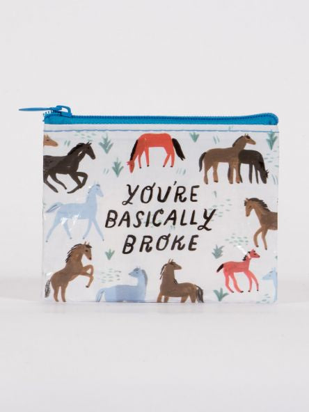 Coin Purse - Basically Broke