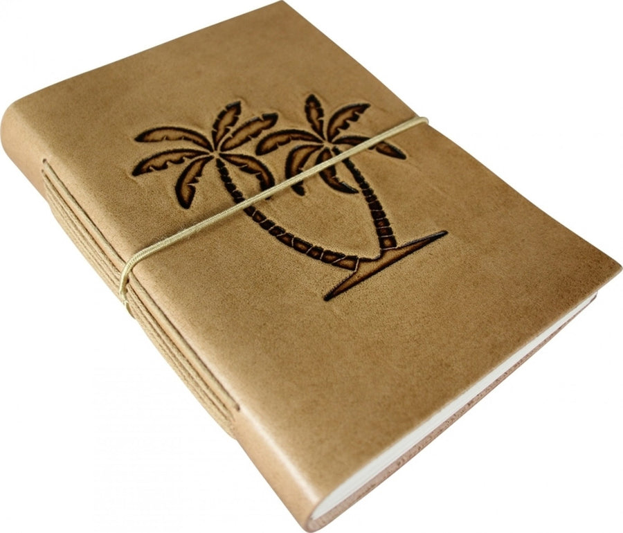 Large Leather Note Book - Palm
