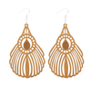 Timber Feather Earrings