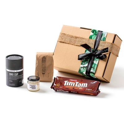 Bean Drinking Coffee Gift Box
