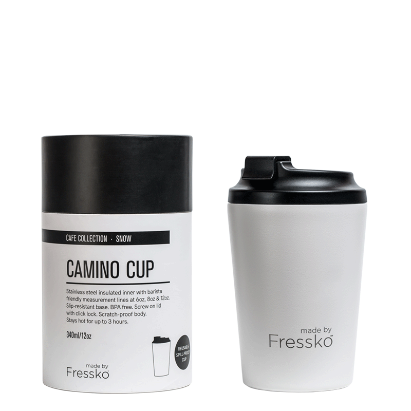 Camino Coffee Cup - 12oz White
