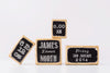 Children's Name Blocks, Set of 4 – Vintage Chalkboard
