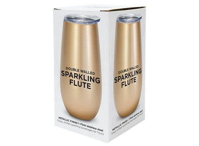 Double Walled Champagne Flute