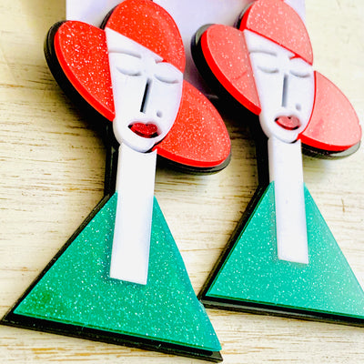 40's Beauty Earrings