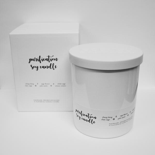 Purification Intention Candle