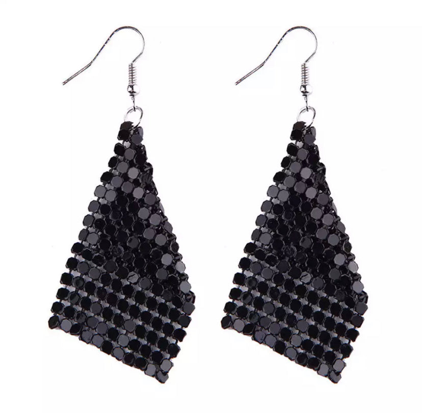 Glo Mesh Earrings