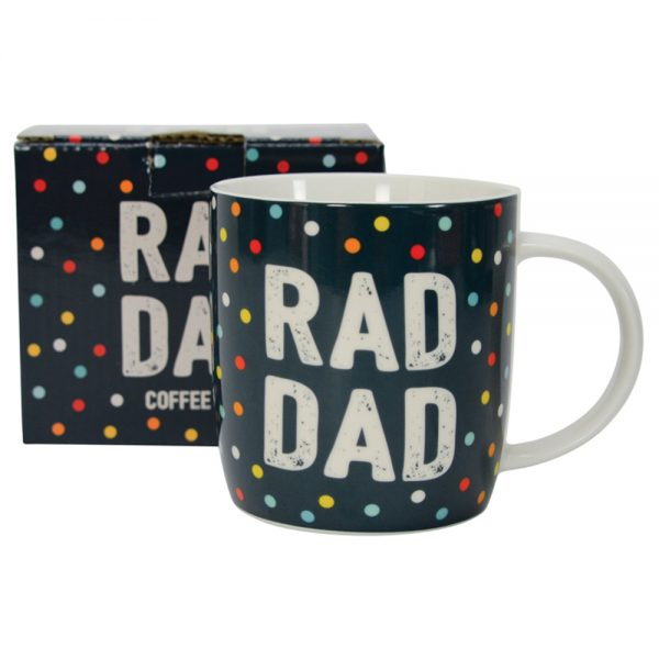 Rad Dad Spotty Mug
