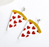 Pizza Love Earrings