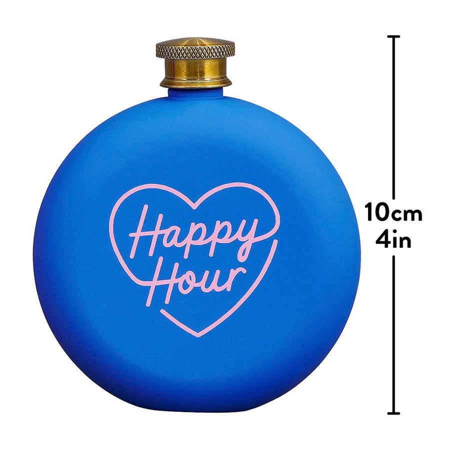Hip Flask - Happy Hour