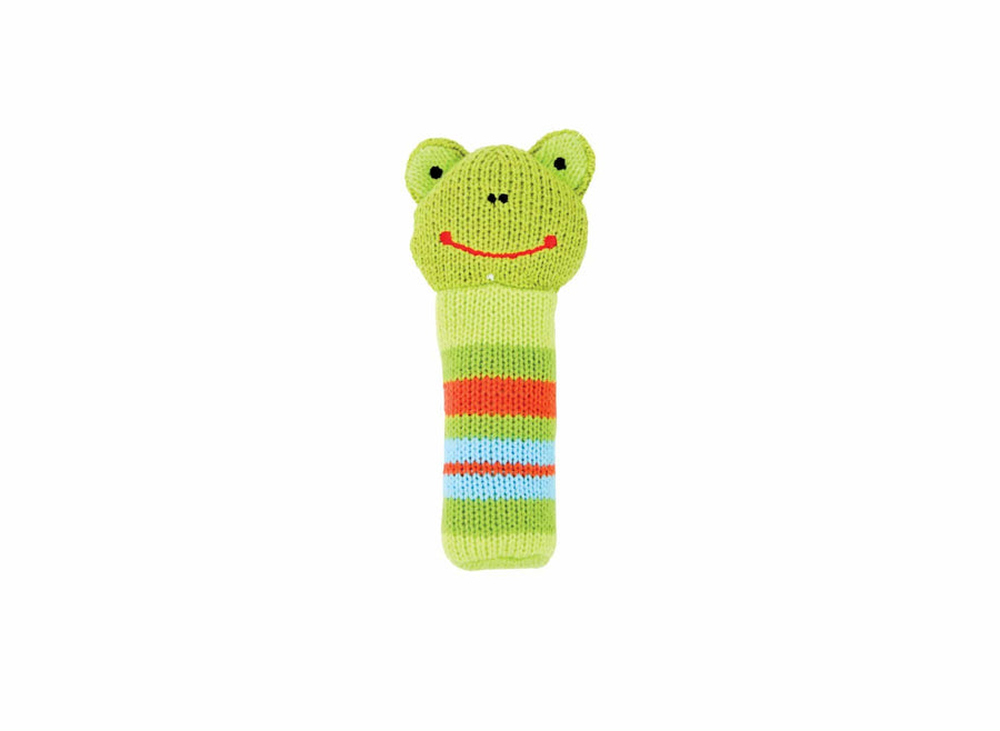 Rattle - Knit Frog