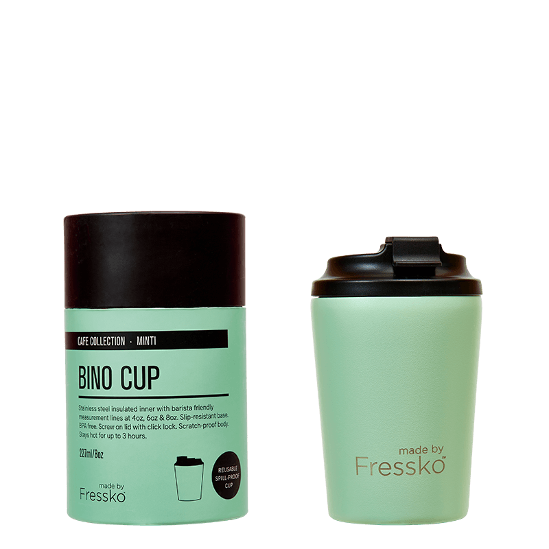 Bino Coffee Cup - 8oz Mintini