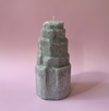 Selenite Tower Candle