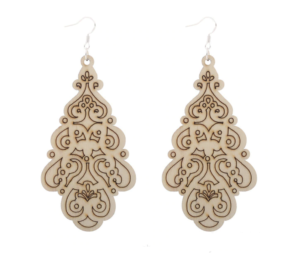 Timber Fine Detail Earring