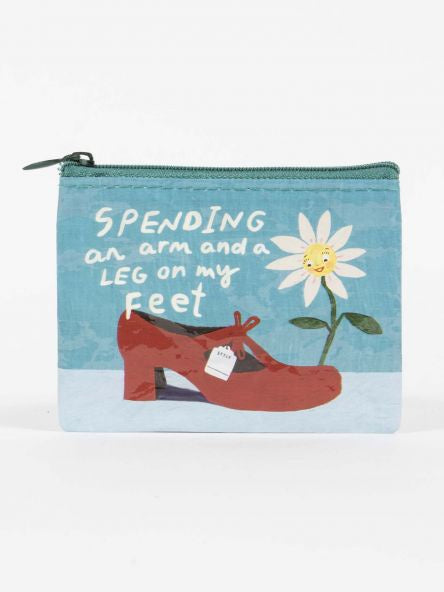 Coin Purse - Spending An Arm & Leg