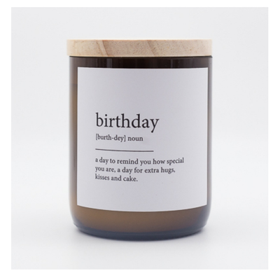 Commonfolk Candle - Birthday
