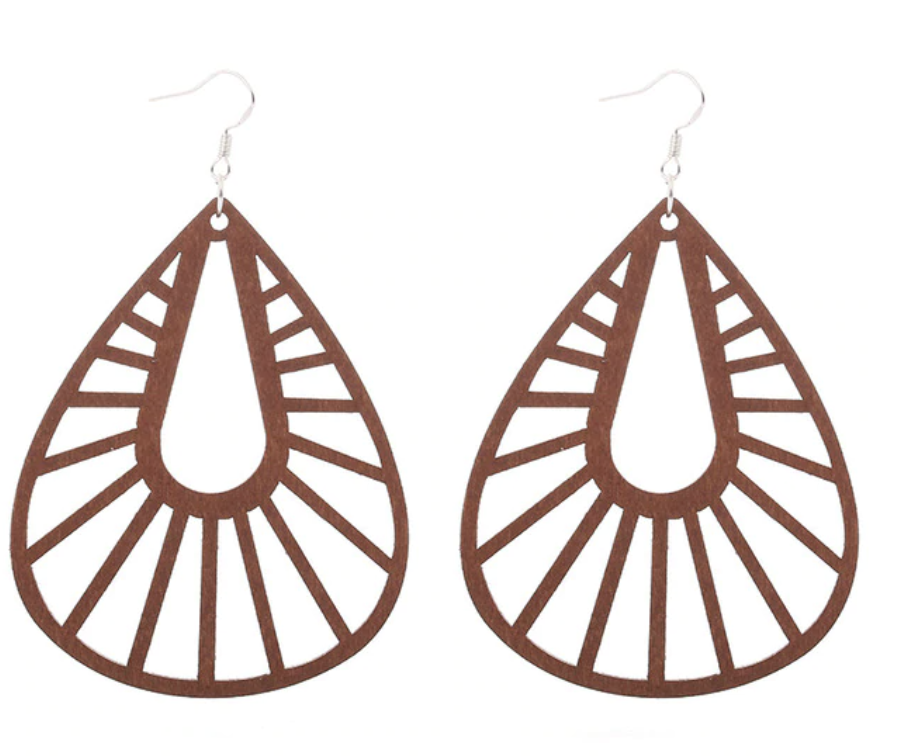 Timber Basket Earrings