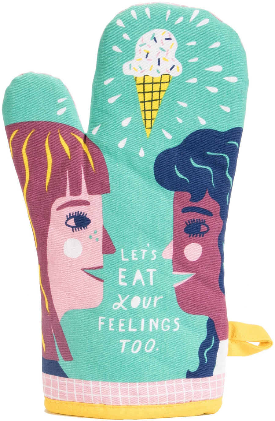 Oven Mitt - Let's Eat Our Feelings