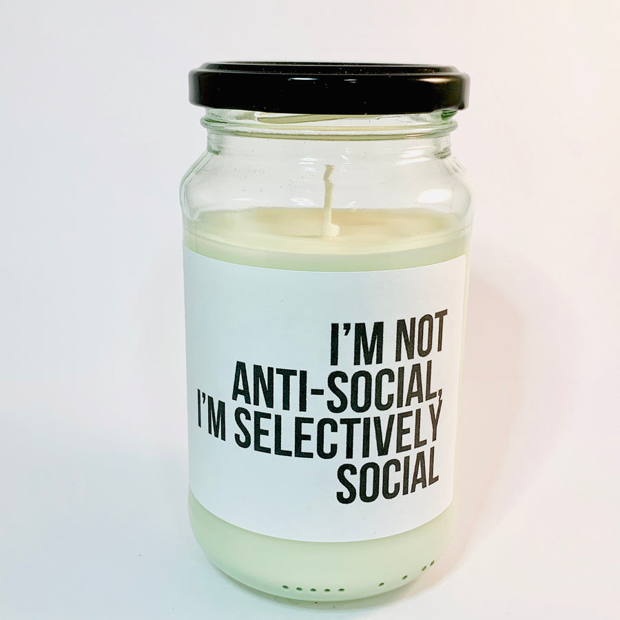 Soy Candle - Anti Social