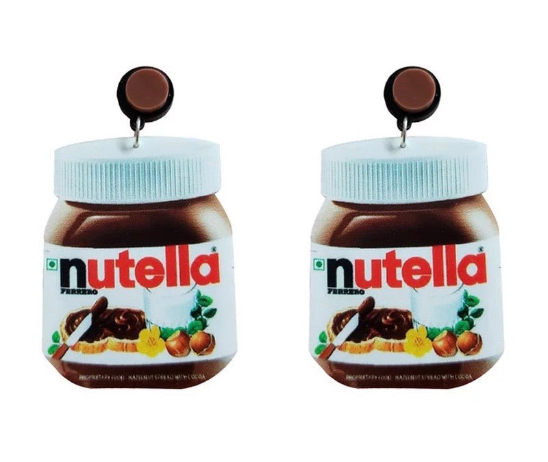 Nutella Earrings