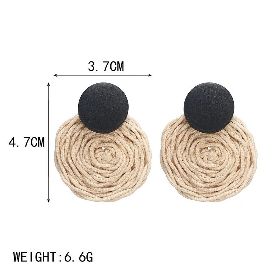 Hemp Rope Earrings