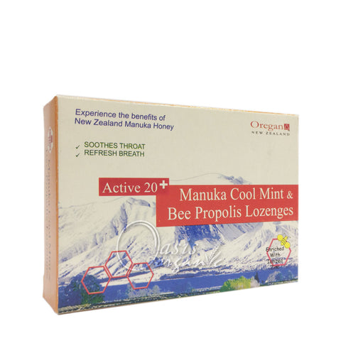 Lozenge ~ Manuka Honey & Bee Propolis & Mint