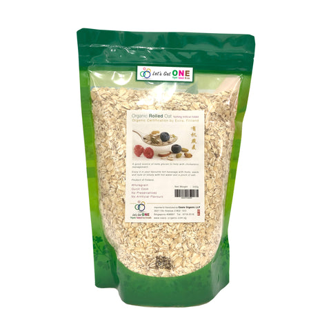 Cereal ~ Organic Rolled Oat (Regular)