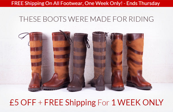 Rydale New Boots Offer