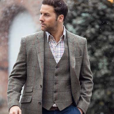 How to match your tweed waistcoat and blazer