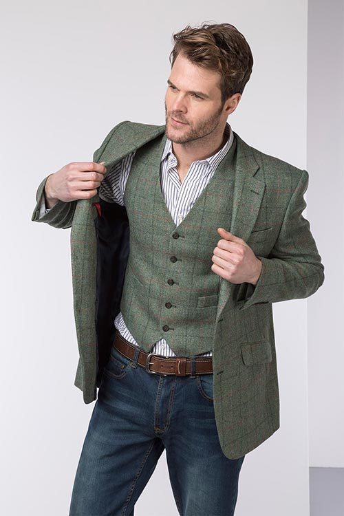 b2946db076b Matching your tweed jacket with a waistcoat