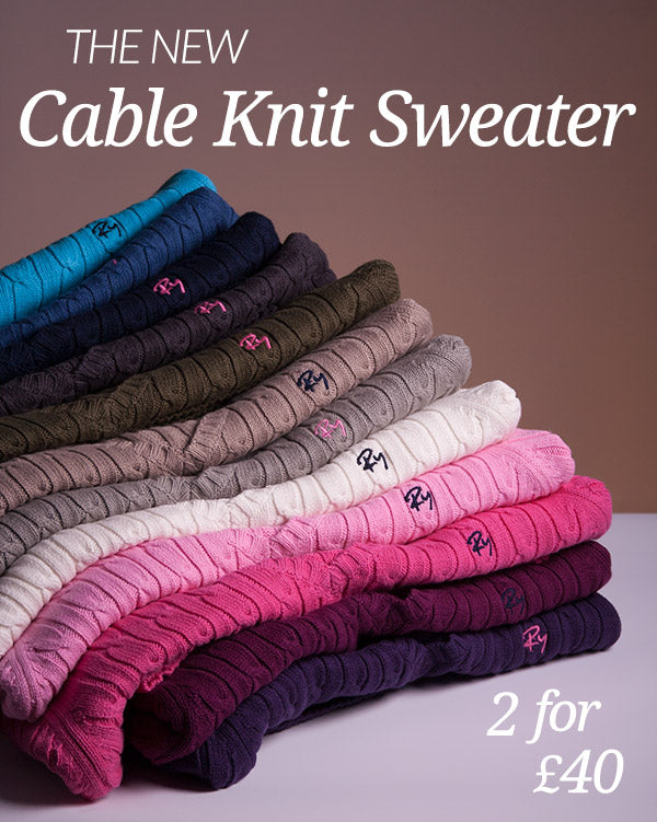 Rydale Cable Knit Sweater