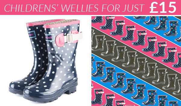 Rydale Childrens Wellies for £15