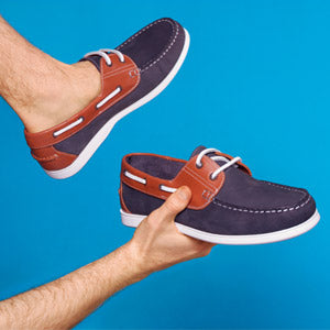 Rydale Leather Deck Shoe