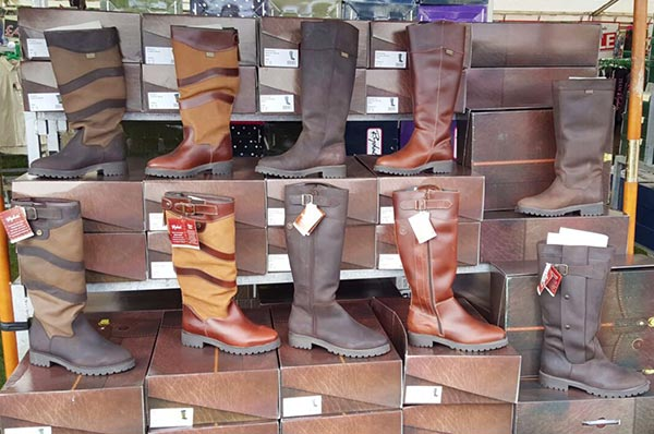 Rydale Boots at East Anglian Game Fair