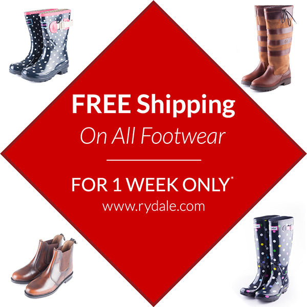 Rydale Free Shipping on All Footwear