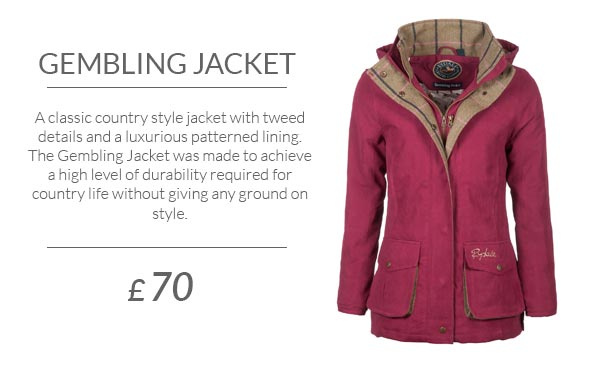 The New Ladies Gembling Jacket