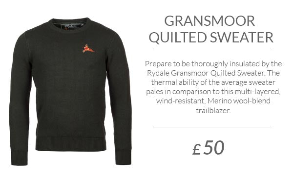 Gent's Gransmoor Quilted Sweater